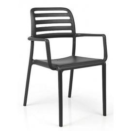 Plastová židle COSTA s područkami
