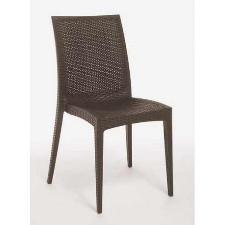 Plastová židle RATTAN ITTC Stima