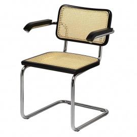 Jednací trubková židle BREUER P