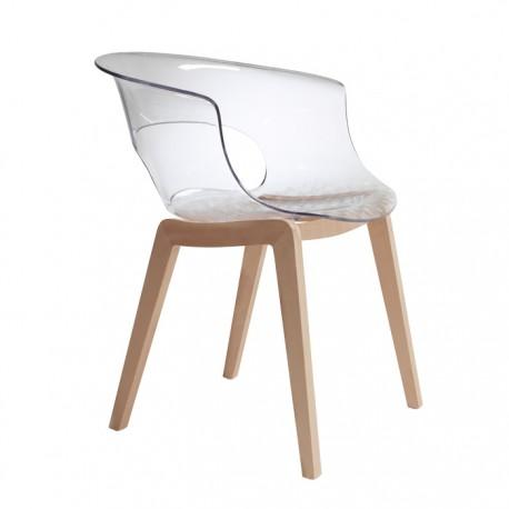 Plastová židle Natural MISS B antishock Scab (odběr po 2ks)