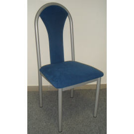 Jídelní kovová židle ZEUS