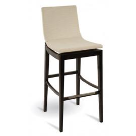 Dřevěná barová židle MALACHIT BST