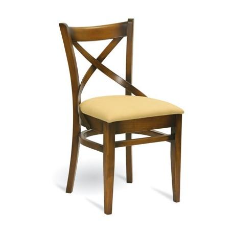 Dřevěná čalouněná židle A-5245 Paged meble contract