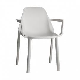 plastová židle PIÚ s područkami